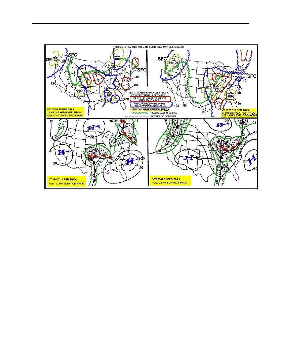 Figure 2 5 Low Level Significant Weather Prognostic Chart
